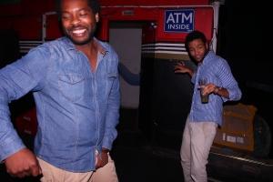 bustin moves on the danceflooooor