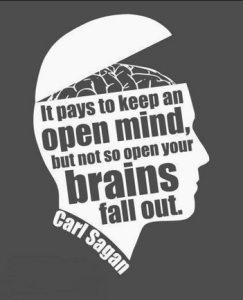 Carl Sagan quote.